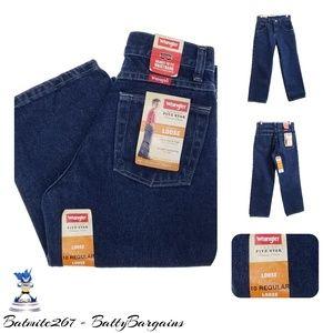 NEW 10 Regular Loose Adjustable Wrangler Jeans